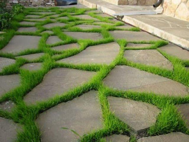 Дорожки своими руками для сада и дачи: 50 фото 9