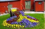 Простые способы красиво оформить цветник на даче своими руками