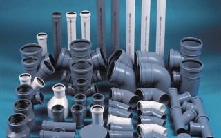 Диаметр и другие характеристики пластиковых труб для канализации