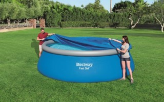 Как эффективно подогреть воду в уличном бассейне на даче