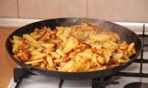 Простые способы красиво нарезать картошку для жарки на сковороде