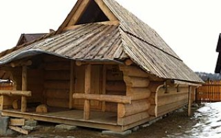 Как укладывается тесовая крыша?