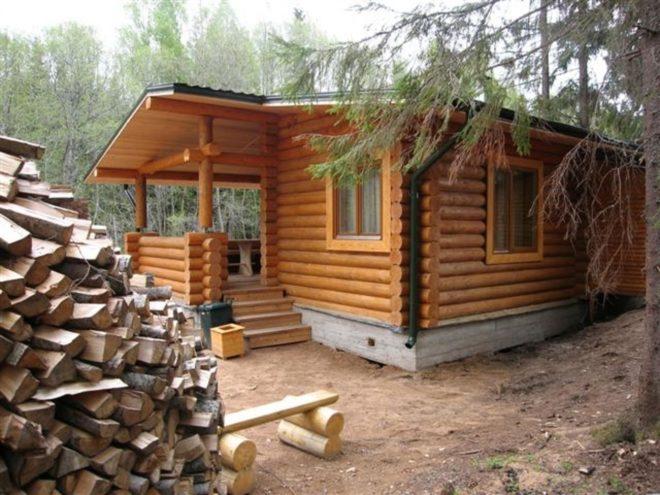 Какую баню лучше построить на даче своими руками недорого, правильно и быстро: из бруса, кирпича, пеноблоков