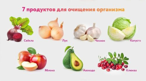 Среди продуктов, чистящих организм, - есть и чеснок